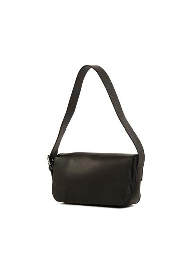 Bagmori Kadın Kapaklı Baget Çanta M000004755 Siyah